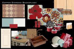 Inspiration Board Copper Diamond Backsplash – Contemporary Country » 1005design.com#comment-2472