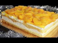 Szampańskie ciasto z brzoskwiniami ⭐⭐ - YouTube Cake Decorating Tutorials, Polish Recipes, Cheesecake, Food And Drink, Cooking Recipes, Make It Yourself, Baking, Fruit, Sissi