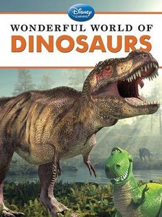 ALMA - Illustrations and favorite Disney characters help children discover the magic of dinosaurs.