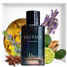 At the beginning of 2018 fashion house Dior will present a refreshed version of the best-selling fragrance Dior Sauvage from 2015 years – Dior Sauvage Eau de Parfum. Perfume Hermes, Perfume Versace, Perfume Zara, Perfume Diesel, Best Perfume, Perfume Bottles, Parfum Dior, Perfume Collection, Lotions