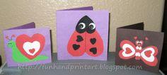 Heart-Shaped Animals {Valentine's Day Cards} - Artsy Momma