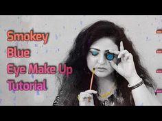 Make-up machen – Anfänger Smokey Blue Eye Make Up Tutorial (HD) – Du … - Make-up Geheimnisse Make Makeup, Eye Makeup Steps, Makeup For Teens, Blue Eye Makeup, Makeup Blog, Simple Makeup, Makeup Ideas, Makeup Tricks, Makeup Inspiration