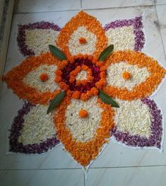 Pookalam Rangoli Designs