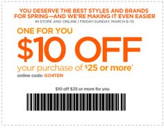JCPenney Coupons 10 Off