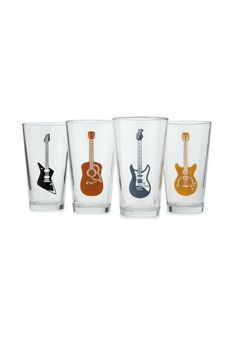 Look what I found at UncommonGoods: Guitar Glasses - Set of 4 for CAD Creative Gifts For Boyfriend, Great Gifts For Men, Birthday Gifts For Boyfriend, Boyfriend Gifts, Gifts For Dad, Fathers Day Gifts, Fun Gifts, Gift For Music Lover, Music Gifts