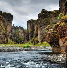 The Gorge, Vik, Iceland ♥