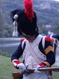 Sergente maggiore dei granatieri della guardia imperiale francese