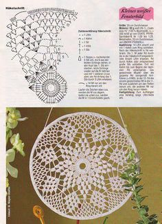 Crochet Doily Vinatge Wedding Doilies Handmade round Home Decor Table Decoration Boho Decor Gift For Her Bridal Accessories Antique Lace Motif Mandala Crochet, Crochet Motifs, Crochet Chart, Thread Crochet, Filet Crochet, Crochet Doilies, Knit Crochet, Doily Patterns, Crochet Patterns