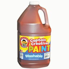 BROWN GALLON WASHABLE PAINT BY