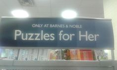 """Puzzles for Her"" (thanks @malakhgabriel!)"