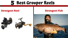 Grouper Is One Of The Most Strongest Fish. In this Article, You Will Find The 5 Best Grouper Reels Available In The Market. Fishing Reel For Strong Fish. Best Fishing Reels, Fishing Tips, Grouper Fish, Bottom Fishing, Strong