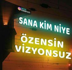 Sarcastic Words, Turkish Lights, Neon Words, Good Sentences, Crazy Girls, Galaxy Wallpaper, Neon Lighting, Book Quotes, Quotations
