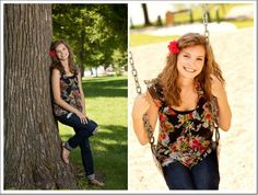 Outdoor Senior Picture Ideas for Girls - Bing Images