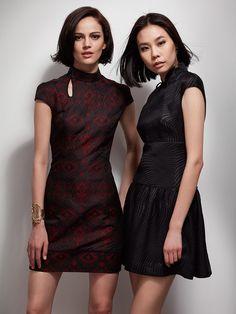 Shanghai Tang Qipao dresses