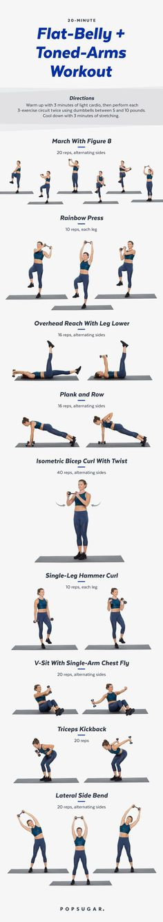 9 Printable At-Home Workouts You Need in Your Life