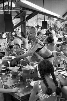 Henri Cartier-Bresson // France, Corsica 1969. Santa Giulia. Club Méditerranée.