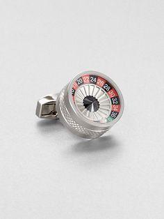 Tateossian - Gambling Mechanical Roulette Cuff Link - Saks.com