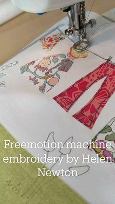 Free Motion Quilting, Quilt Tutorials, Wonders Of The World, Machine Embroidery, Applique, Quilts, Sewing, Crafts, Yarn Crafts