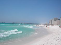 dreaming......of a beach vacation..... This is my favorite beach spot (Navarre Beach, Florida)