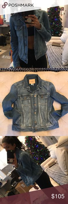 Paige denim jacket (Same Day 📦) Worn twice but in great condition PAIGE Jackets & Coats Jean Jackets