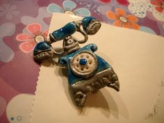 telephone brooch by AutomneFold on DeviantArt