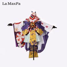 >> Click to Buy << La MaxPa Onmyoji game snow girls cosplay Japanese anime costume girl women anime Halloween hellspawn kimono idolized custom made #Affiliate