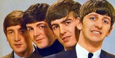 John Lennon, Paul McCartney, George Harrison, and Richard Starkey (The boys. circa.1963-64.)