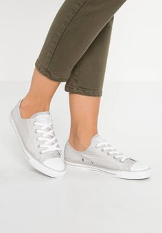 CHUCK TAYLOR ALL STAR DAINTY - Trainers - ash grey white mouse    Zalando.co.uk 🛒 3fde68371b5d