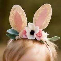 Diadema de Woodland Bunny algunos es uno Bunny orejas conejo