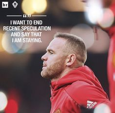"1,415 Suka, 15 Komentar - Manchester United (@unitedview) di Instagram: ""#BREAKING: Legend #rooney will be staying at Manchester United 💯🔥 Do you think he did the right…"""