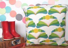 Citrus Fan Cushion £14.00