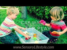 Child development education from pediatric therapist on sensory processing, fine motor & gross motor skills designed to promote growth through sensory play. Water Play Activities, Tactile Activities, Motor Activities, Sensory Play, Infant Activities, Activities For Kids, Play Activity, Toddler Videos, Toddler Development