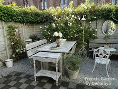 French Garden designed by Decoraya