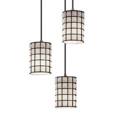 Cluster Pendant Wired (via Fab)