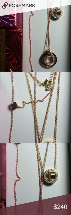 Swarovski Crystals Necklaces layer or wear Swarovski Crystals Necklaces layer or wear separately. Swarovski Jewelry Necklaces