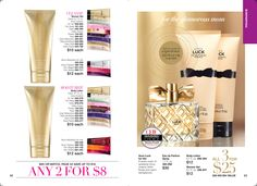 CEW's insiders choice Luck #luck AVON https://www.avon.com/brochure/?s=ShopBroch&c=repPWP&repid=16317031