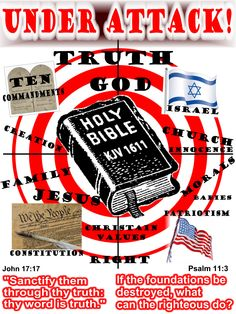 Everything that is TRUE is under attack! Is it a wonder that the Word of God is being attacked? The Devil from the beginning attacked the words of God. Get back to the truth, get back to the King James Bible!