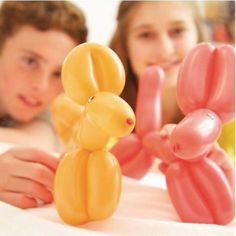 juguete y manualidades haz animales con globos