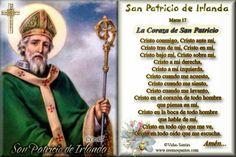 Imágenes de Cecill: Estampita y Oración a San Patricio de Irlanda