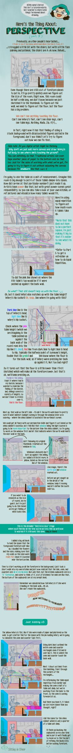 07 Here's the Thing About 1 Point Perspective by betsyillustration on DeviantArt
