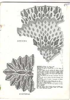 Ретро-салфетки крючком centros-crochet-012