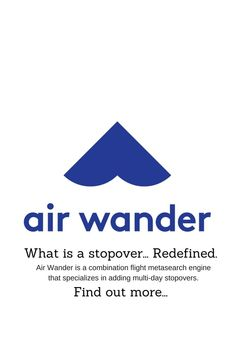 AirWander - What Is A Stopover… Redefined - Rudderless Travel Budget Travel, Us Travel, Travel Tips, Travel Ideas, Island Nations, Travel Reviews, Backpacking Tips, Free Things To Do, What To Pack