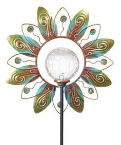 Look what I found on #zulily! Solar Flower Stake by Grasslands Road #zulilyfinds