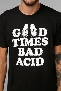 Bad Acid Good Times Bad Acid Tee
