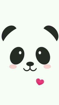 Panda kawaii iPhone wallpaper cute- another one for Danae Varela - Bilder - Hintergrundbilder Niedlicher Panda, Cartoon Panda, Panda Emoji, Panda Kawaii, Panda Bears, Panda Wallpapers, Cute Wallpapers, Iphone Wallpapers, Cute Backgrounds