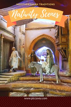 Nativity Scenes are typical at Christmastime in Mediterranean countries. Spain and Italy particularly. Lets take a look at the origin of this tradition and find out more about recreating Bethlehem around the world. Christmas In Spain, Christmas Fun, Nativity Scenes, Mediterranean Food, European Destination, Food Travel, Bethlehem, Andalucia, Culture Travel