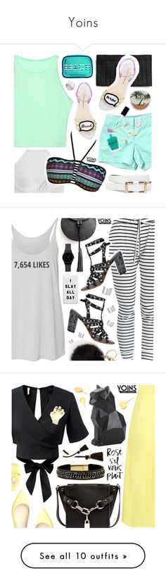 """""""Yoins"""" by pastelneon ❤ liked on Polyvore featuring yoins, J.Crew, Urban Decay, MACBETH, Elsa Peretti, Lauren B. Beauty, Bling Jewelry, Summer, beach and FunInTheSun"""