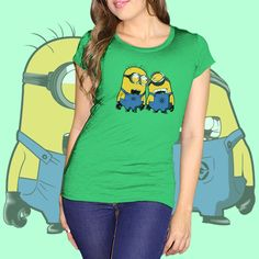 Minions laugh Green - Diseño oficial Mi Villano Favorito 2