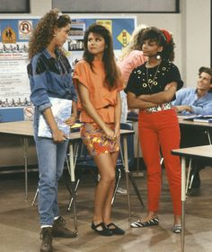 Kelly's outfit. I love saved by the bells fashion