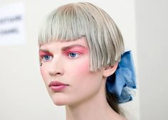 manorplace18: MAKEUP - How To Pink & Punk at CHANEL Cruise 2013.